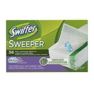 Amazon Com Swiffer Sweeper Wet Mop Pad Refills For Floor