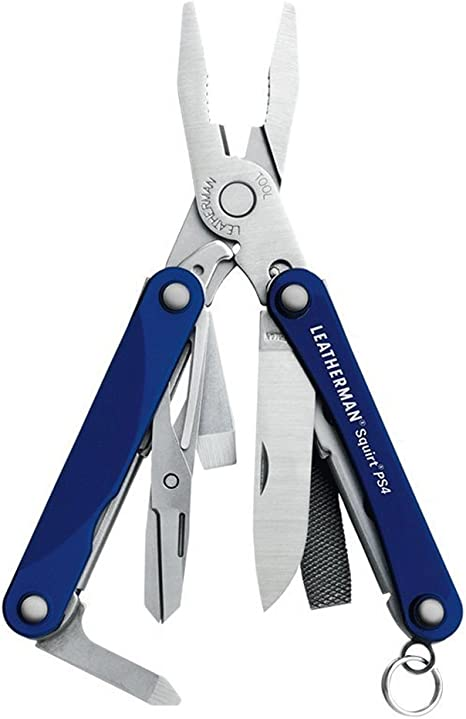 LEATHERMAN - Squirt PS4 Keychain Multi-Tool + Ledlenser K2L ...