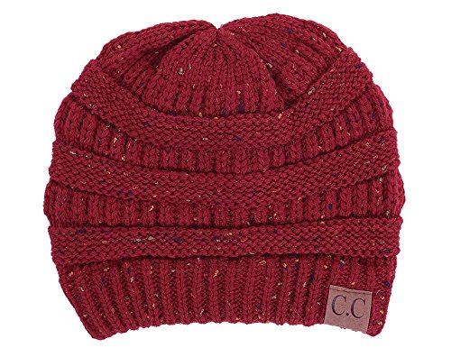 FunkyJunque H-6033-64 Confetti Knit Beanie - - Cool Hat Beanie