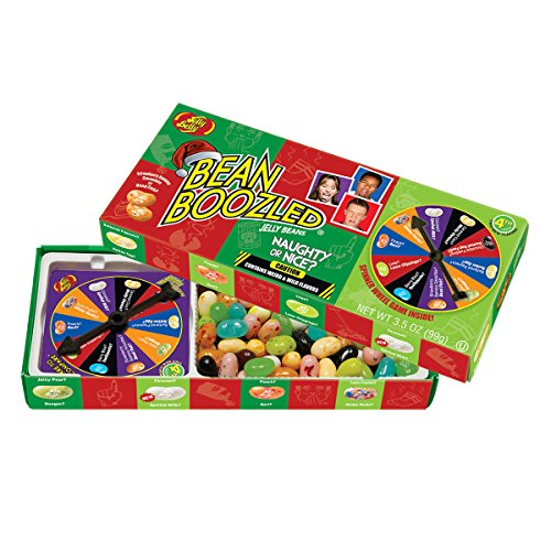 Jelly Belly BeanBoozled Naughty or Nice Spinner Jelly Bean Gift Box, 3.5 Ounce ()