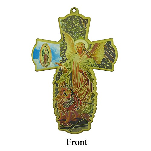 12 Pcs Guardian Angel Wall Cross Baptism Favor First Communion Favor