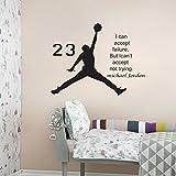LOVE(TM)Basketball Inspirational Wall Sticker Quotes Vinyl Wall Decals Wall Mural Art Kids Children Room Decor