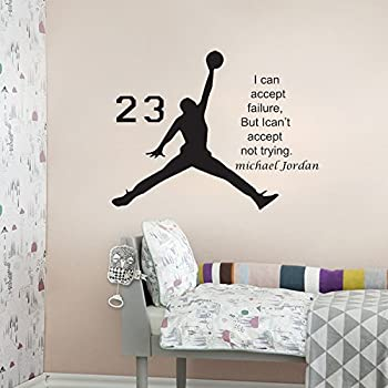 LOVE(TM)Basketball Inspirational Wall Sticker Quotes Vinyl Wall Decals Wall  Mural Art Kids