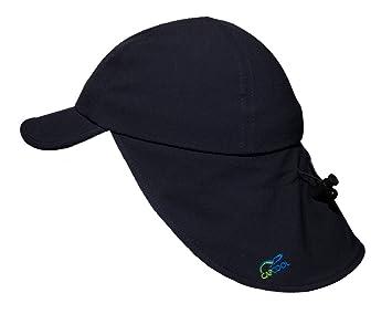 h/öchster Lichtschutzfaktor weltweit! angenehm k/ühl beim Tragen 100/% UV-Schutz! CAPCOOL Sport- u Hautkrebs-Risiko! kein Sonnenbrand Freizeit-Kappe//Cap mit Nackenschutz: WELTNEUHEIT