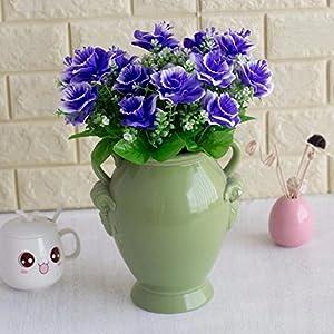 lightclub 1 Bouquet Artificial Fake Babysbreath Daffodil Flower Plant Home Office Decor 90