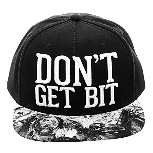 AMC The Walking Dead Don't Get Bit Snapback Cap Hat - The Walking Dead Hats