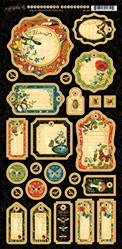 Graphic 45 4501490 Nature Sketchbook Journaling Die-Cut ()