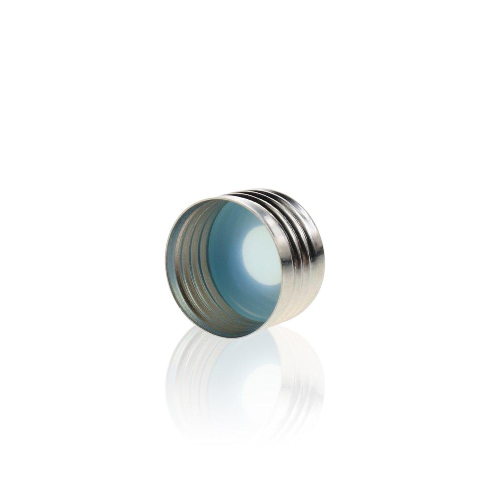 Clear 30mm Height JG Finneran 4100-830 Borosilicate Glass Shell Vials 8mm Diameter 8mm Plug Case of 1000 750L Capacity
