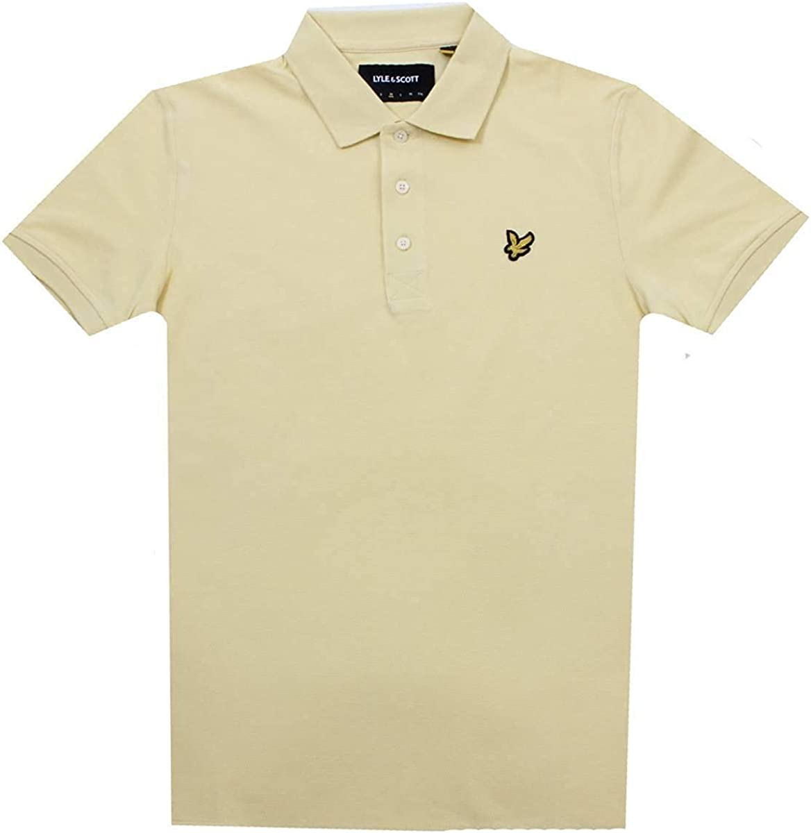 Lyle & Scott Polo M/C Uomo Mod. SP400 Z458 Yellow XS: Amazon.es ...