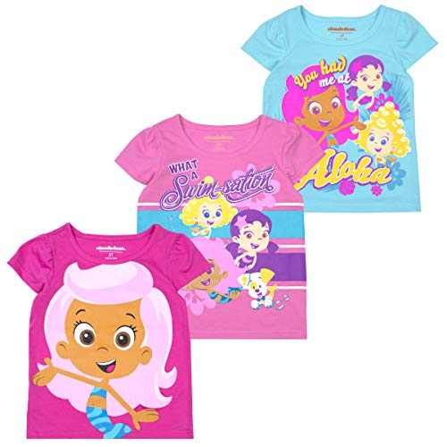 Nickelodeon Girls and Toddlers 3-Pack T-Shirts: JoJo Siwa
