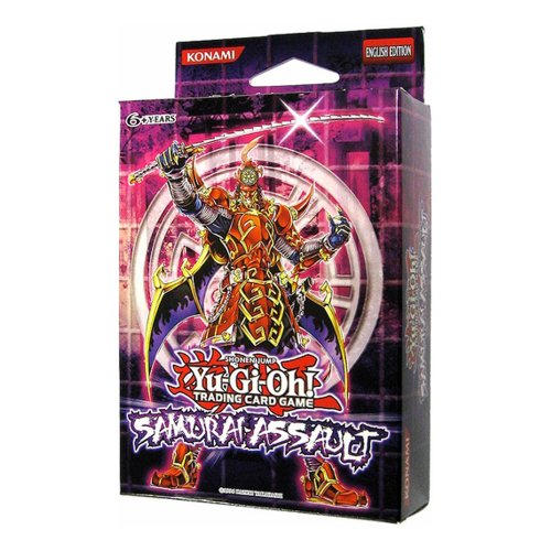 YuGiOh! Samurai Assault Special Edition Box: (3 Packs + Elder of the Six Samurai Super Rare Promo)