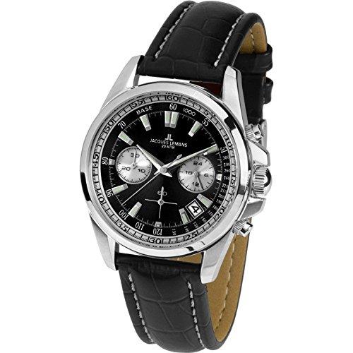 Jacques Lemans Liverpool 1-1830A Mens Chronograph Classic & Simple