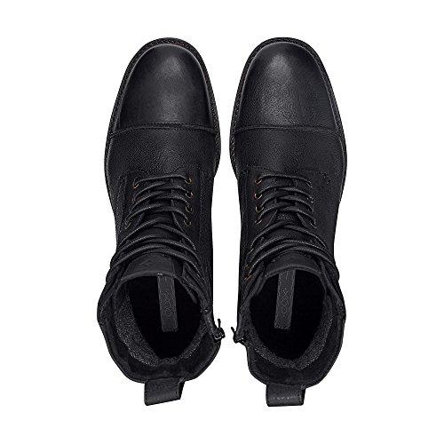 Cox Herren Winter-Boots Schwarz