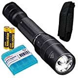 Fenix FD20 350 Lumen CREE XP-G2 S3 LED Focusable (Zoomable) Tactical & Utility AA Flashlight with 2x AA Batteries & LumenTac Battery Organizer