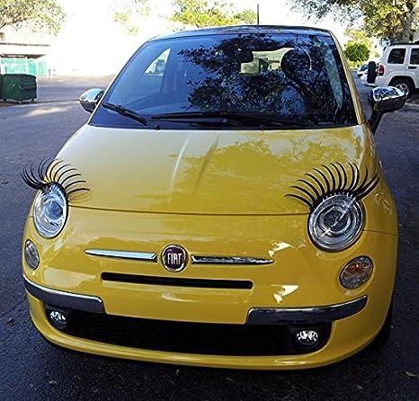 1 Paar Sexy Wimpern Für Autos Passend Für Alle Marken Küche Haushalt