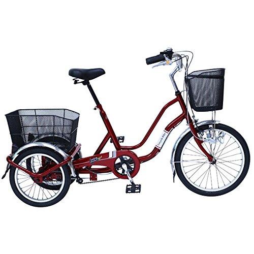 SWING CHARLIE911 ノーパンク三輪自転車E MG-TRW20NE【代引不可】 生活用品 インテリア 雑貨 自転車(シティーサイクル) その他の自転車 top1-ds-1991253-ah [簡素パッケージ品] B078M2FVST