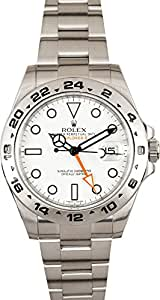Rolex Explorer II Mechanical (Automatic) Black Dial Mens Watch 216570 (Certified Pre-Owned)