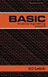 BASIC Reliability Engineering Analysis, R. D. Leitch, 0408018305