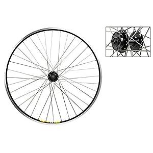 Wheel Master 700c Front Wheel Quick Release, 36H, Black (MSW)/Black/Steel