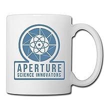 Portal 2 Video Game Ceramic Custom Coffee/Tea Mug White 11oz For Funny Gifts