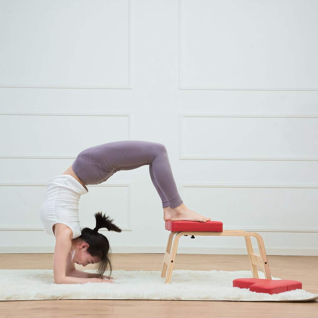 Amazon.com : Kimjs Yoga Headstand Bench- Stand Yoga Chair ...