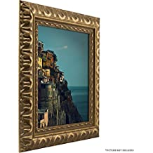 Craig Frames Bravado Ornate Antique Bronze Picture Frame, 8 by 10-Inch