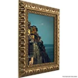 24x36 vintage poster frame - Craig Frames Bravado Ornate Antique Bronze Picture Frame, 24 by 36-Inch
