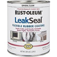 Rust-Oleum 275116 Stop Rust Leak Seal Flexible Rubber Coating Sealant, Crystal Clear