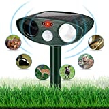 Best Dog Repellents - Dog Chaser, Outdoor Solar Powered and Weatherproof Ultrasonic Review