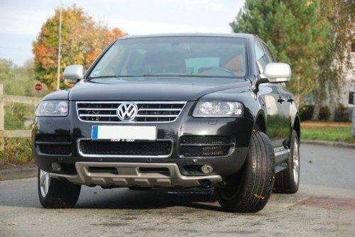 Volkswagen VW Touareg Protector de debajo del coche delant. King Kong Nuevo R Line Aleró n Spoiler tuning-deal