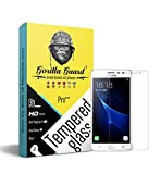 Gorilla guards HD+ Clear tempered glass screen protector for Samsung Galaxy J3 Pro 5inch (Pro series) 8.5H hardness, oelophobic, UV protect, 2.5D rounded edges, neo coated, free instalation kit, BEST DEAL!