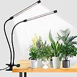 LED Grow Light,6000K Full Spectrum Clip Plant