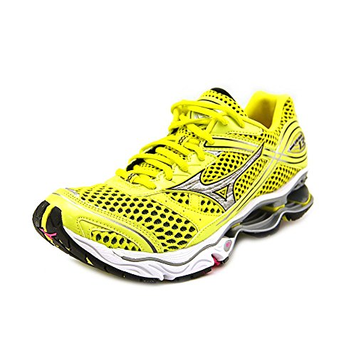 Mizuno Wave Creation 13 Womens Size 6 Yellow Mesh Running Shoes