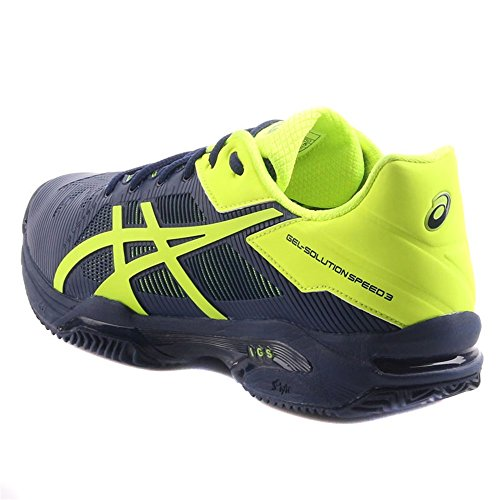 Chaussures Asics Gel-solution Speed 3 Clay blue - yellow