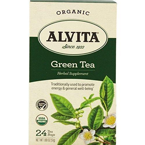 Alvita Tea - Alvita Organic Green Tea, 24 Bag, Pack of 3