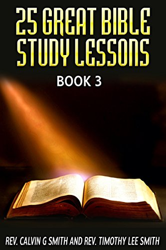 25 GREAT BIBLE STUDY LESSONS ebook product image