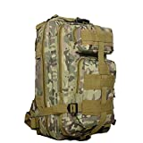 Tactical Backpack - Z ZTDM Outdoor Tactical Molle Backpack Military Rucksacks 25L for Camping Hiking Trekking Waterproof Camo