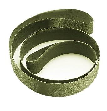 Premium 50mm x 2000mm Aluminium Oxide Cloth Belts Pack of 5. P80