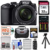 Cheap Nikon Coolpix B500 Wi-Fi Digital Camera (Black) with 32GB Card + Batteries & Charger + Case + Tripod Kit (Certified Refurbished)