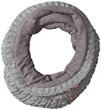 Roxy SNOW Junior's Fjord Collar Neck Gaiter, Warm Heather Grey, 1SZ