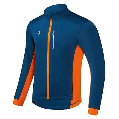 Cycling Jacket Winter Windproof jacket Thermal Fleece Running Soft Shell jacket