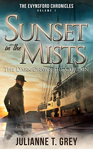 Midnight Audio Mist (Sunset in the Mists - The Dark Draws the Curtain: Christian Mystery & Suspense Romance (The Evynsford Chronicles Book 1))