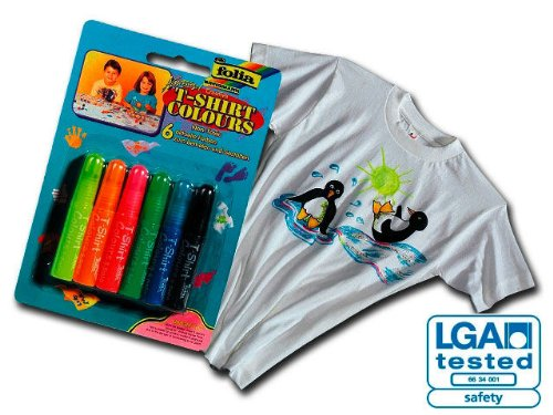 T-Shirt colours (Textilmalstift) 6er-Set