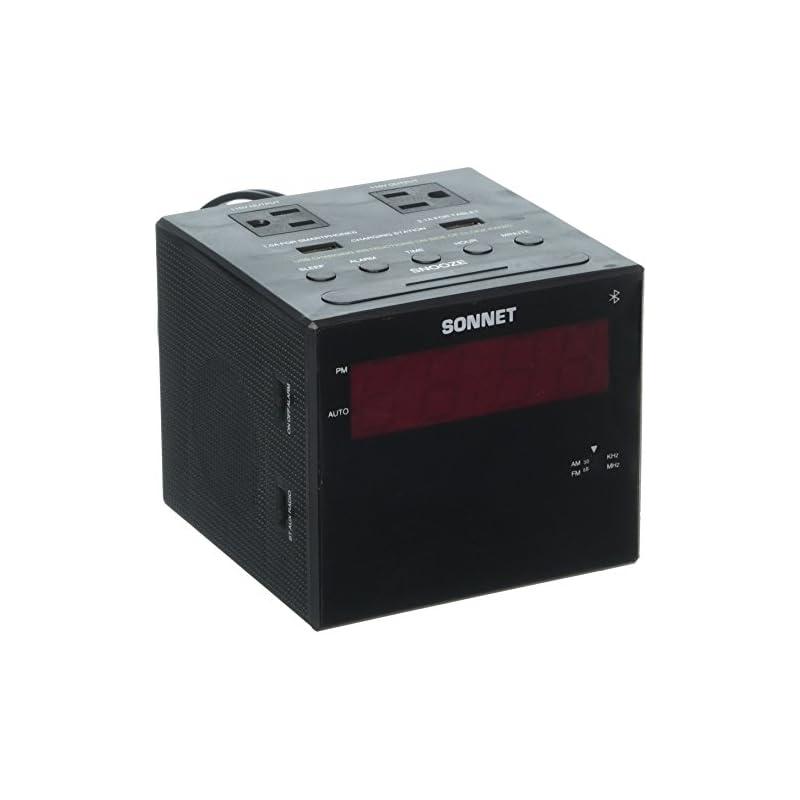 Sonnet Bluetooth Power Station Clock Rad