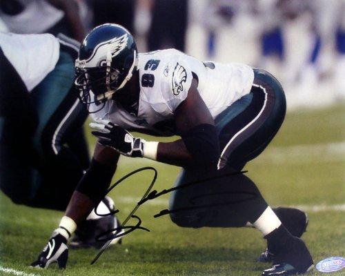 Steiner Sports NFL Jevon Kearse Three Point Stance Autographed 8-by-10-Inch Photograph (Kearse Photograph)