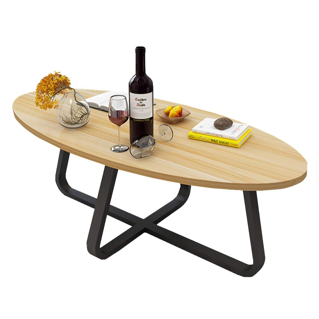 Table family CSQ Nordic Style Couchtisch, Kreatives Wohnzimmer Mehrzweck-Sofa-Tisch Balkon Kleine Couchtisch Dekoration Iron Art Esstisch (Farbe : D)