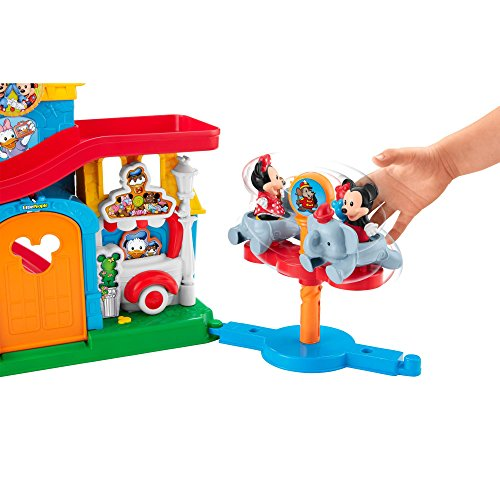 Fisher Price Little People Magical Day At Disney Playset