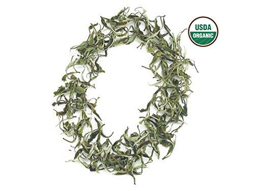 Organic Snow Buds White Tea 1.8 oz Anti-aging Tea -- Loose Leaf Premium Quality Fresh Harvest