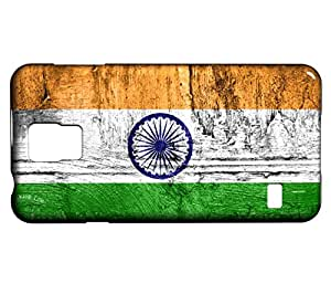 Funda Carcasa para Galaxy S5 Mini Bandera INDIA 07