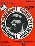 Vol. 13, Cannonball Adderley (Book & CD Set)